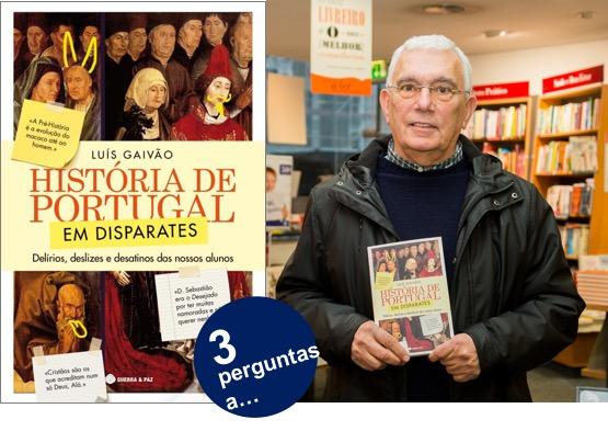 Luís Gaivão | História de Portugal em Disparates – Novos Livros
